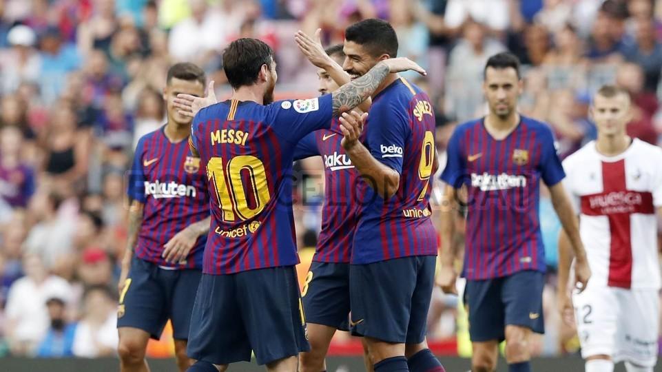 صور مباراة : برشلونة - هويسكا 8-2 ( 02-09-2018 )  97425664