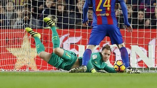 Ter Stegen saves the day against Leganés