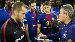 Condes de Albarei Teucro - FC Barcelona Lassa: Towards the Cup as an undefeated leader (28-38)