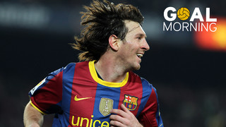 Goal Morning! We return with this goal by Leo Messi...