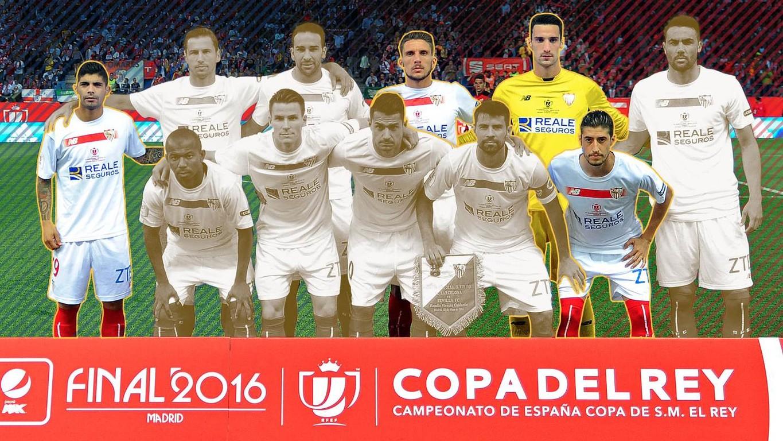 El conjunto andaluz sólo mantiene a cuatro de los once jugadores titulares en la final de 2016, en la que también se enfrentaron al Barça y donde los culés vencieron por 2-0
