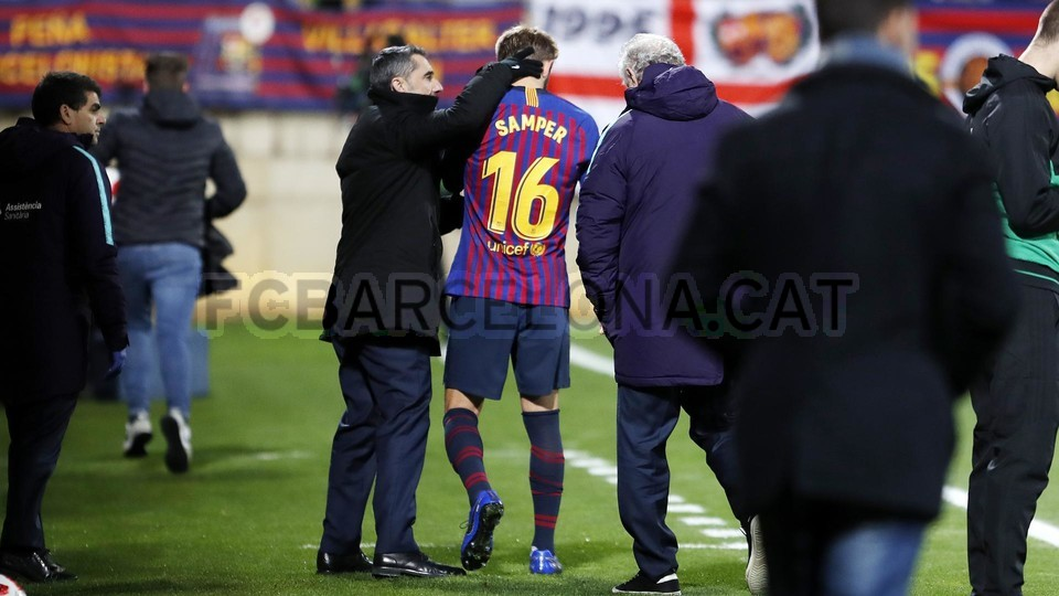 صور مباراة : كولتورال ليونيسا - برشلونة 0-1 ( 31-10-2018 ) كأس ملك إسبانيا 101924352