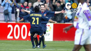 Goal Morning! Xavi... Luis Enrique... Andrés Iniesta. What a goal!