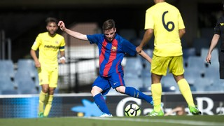 Under 19 A 5 - Villarreal 3 (Copa del Rei)