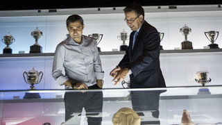 """Bartomeu: """"Valverde s'ha guanyat l'estima de tot el barcelonisme en poques setmanes"""""""