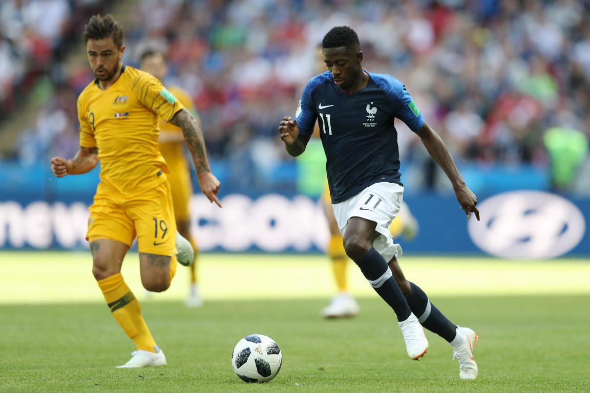 Les deux Français du FC Barcelone étaient titulaires pour leurs débuts en Coupe du Monde