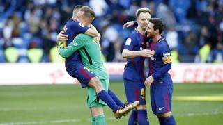 La victoria del Barça en el Santiago Bernabéu, des de dentro