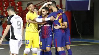 FC Barcelona Lassa - Györ: Triunfo contundente en el debut europeo (7-0)