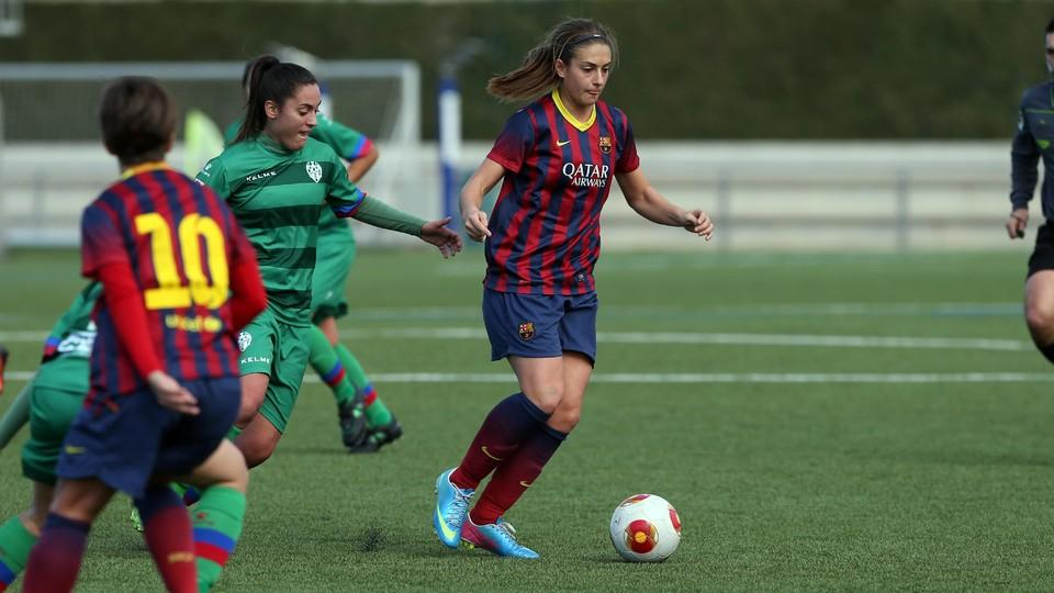 Women a v rayo vallecano 2 1 lead for the return leg of the semis fc barcelona - Forlady barcelona ...