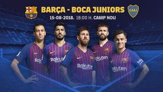 The Argentinians will make their sixth appearance in the friendly which will also see the Barça first team presented in front of the fans