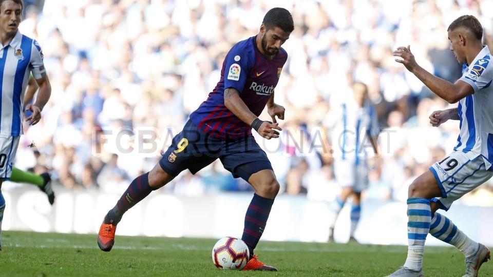 صور مباراة : ريال سوسيداد - برشلونة 1-2 ( 15-09-2018 ) 98523492
