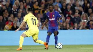 La magia de Dembélé contra el Villarreal