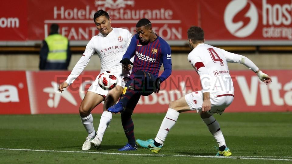 صور مباراة : كولتورال ليونيسا - برشلونة 0-1 ( 31-10-2018 ) كأس ملك إسبانيا 101926758