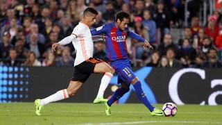 FC Barcelona 4 - Valencia 2 (1 minuto)