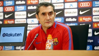 Ernesto Valverde expects tough test against 'valiant' Betis