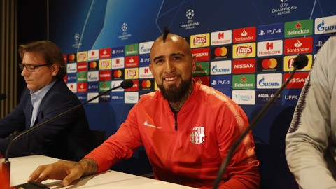 Arturo Vidal: 'We're focused on winning and topping the group'