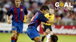 GOAL MORNING!!! Saviola vs Juventus! #BarçaUSTour