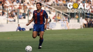 Goal Morning: Today is the birthday of Txiki Begiristain (53). Do you remember this goal against Logroñés?