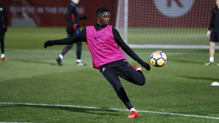 Ousmane Dembélé receives medical discharge