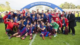 Second UEFA Youth League in five seasons