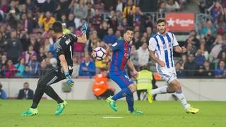 FC Barcelona 3 - Real Sociedad 2 (3 minutes)