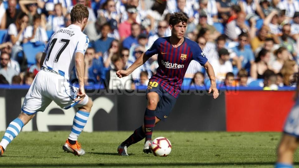 صور مباراة : ريال سوسيداد - برشلونة 1-2 ( 15-09-2018 ) 98507368