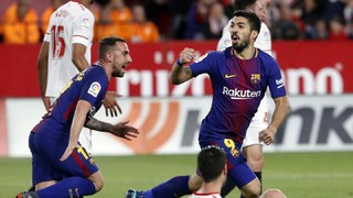 Sevilla 2 - FC Barcelona 2 (1 minut)