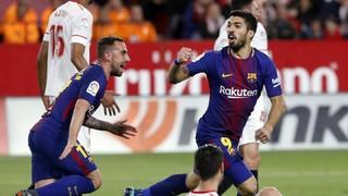 Sevilla 2 - FC Barcelona 2 (1 minuto)