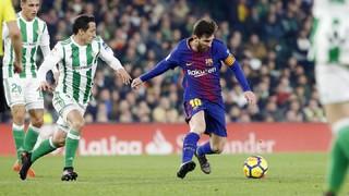 Betis 0 - FC Barcelona 5 (1 minuto)