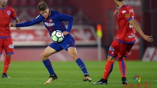 Numancia 1 - FC Barcelona B 0 (Liga)