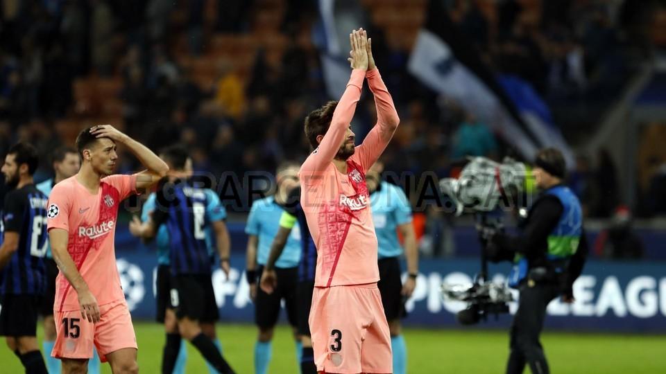 صور مباراة : إنتر ميلان - برشلونة 1-1 ( 06-11-2018 )  102164585