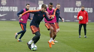 Preparations begin for game against Malaga