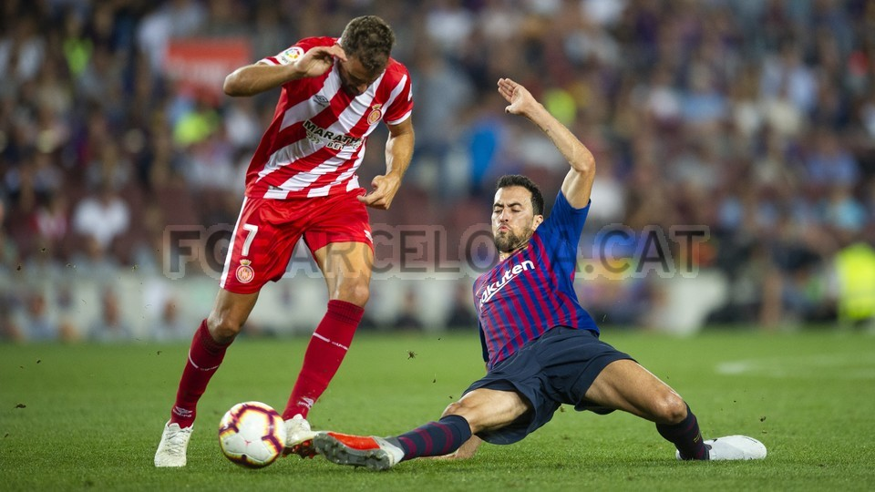 صور مباراة : برشلونة - جيرونا 2-2 ( 23-09-2018 )  99551850