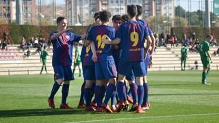 FC Barcelona 3 - Damm 0