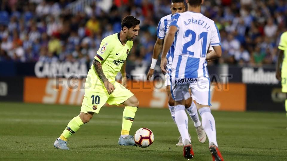 صور مباراة : ليغانيس - برشلونة 2-1 ( 26-09-2018 ) 99772779