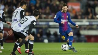 FC Barcelona 1 - València 0 (3 minutos)