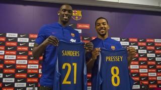 Sanders i Pressey, amb ganes d'aportar al Barça Lassa
