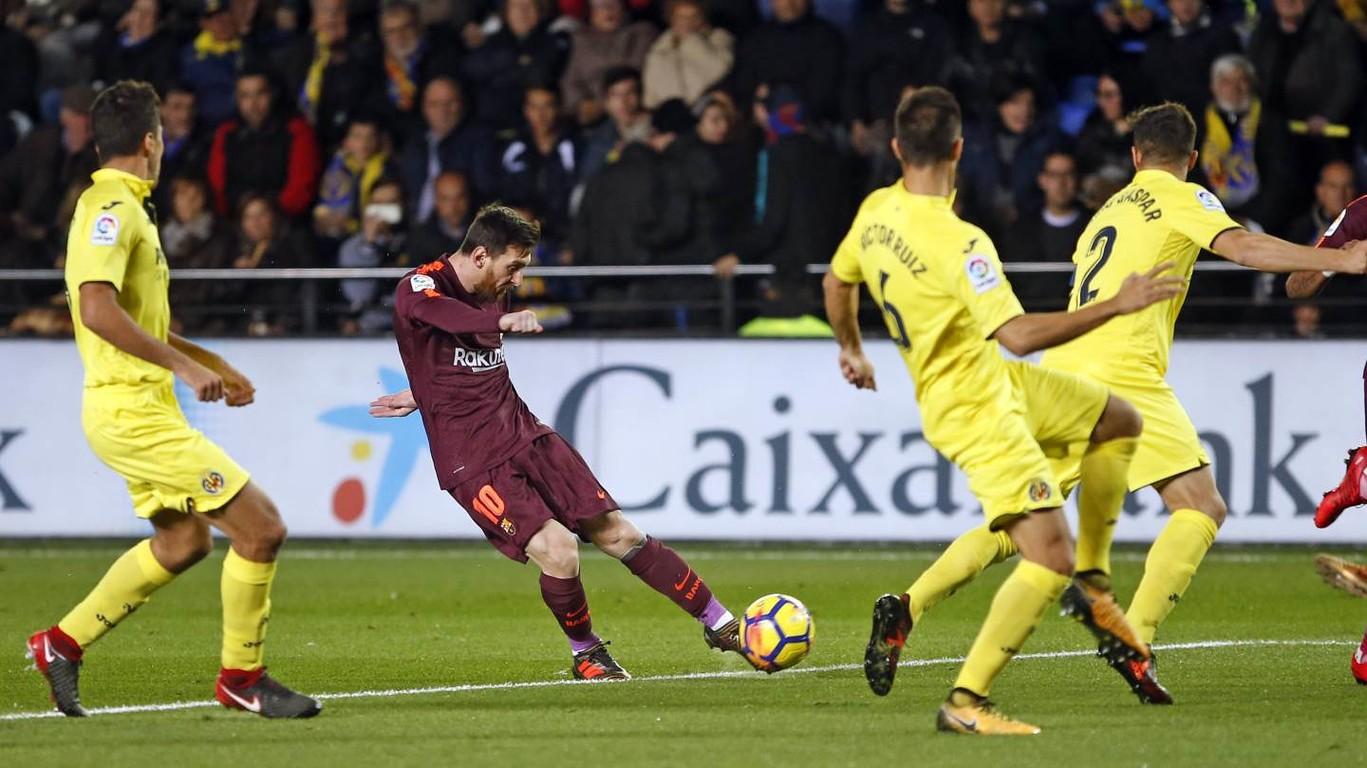 [Ảnh] Villarreal - Barça (0-2)