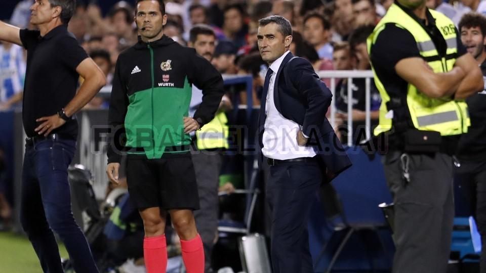 صور مباراة : ليغانيس - برشلونة 2-1 ( 26-09-2018 ) 99786093