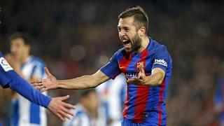 All Jordi Alba's goals for Barça