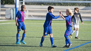 The five best goals from La Masia (2-3 December)
