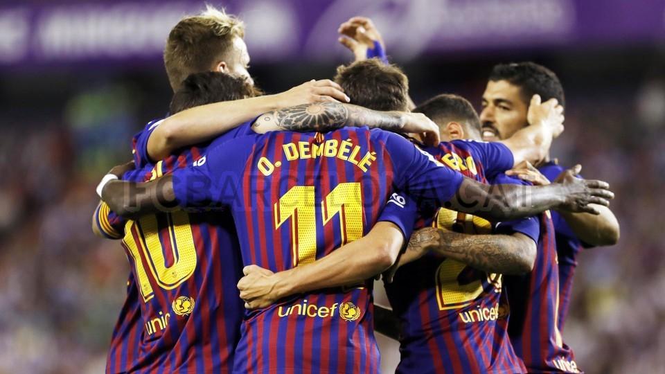 صور مباراة : بلد الوليد - برشلونة 0-1 ( 25-08-2018 )  96710923