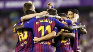 Valladolid  0 - 1  FC Barcelona (2 minuts)