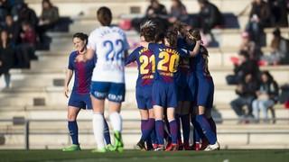 FC Barcelona Femenino - Zaragoza CFF: Amortizan los goles (2-0)