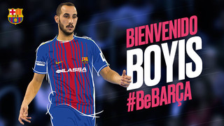 Boyis s'incorpora al Barça Lassa