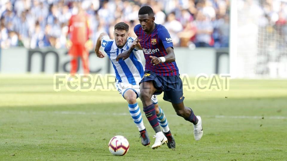 صور مباراة : ريال سوسيداد - برشلونة 1-2 ( 15-09-2018 ) 98507374