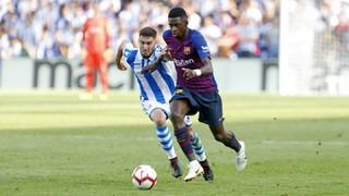 Real Sociedad - FC Barcelona (1 minuto)