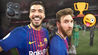 Player cam celebrations after the Copa del Rey final
