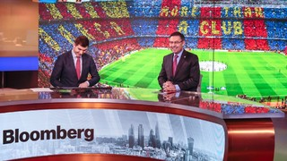 The FC Barcelona President sits down with Bloomberg and says the Club is currently negotiating with 'two or three companies' regarding the naming rights to Camp Nou