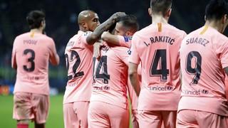 Inter Milan 1 - FC Barcelona 1 (2 minutes)